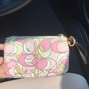 Coach wristlet or change purse!